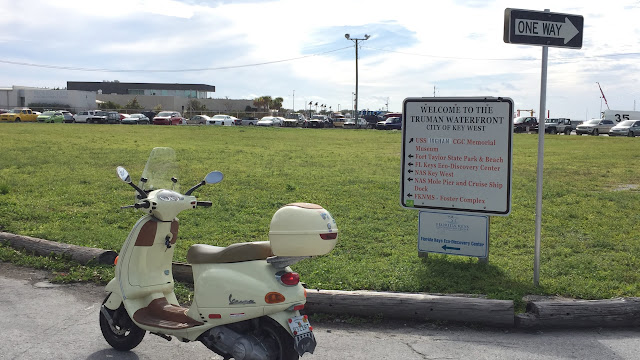 Vespa. Truman Waterfront