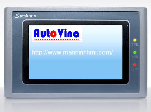 Hình ảnh màn hình cảm ứng 4.3 inch HMI Samkoon SK-070AE, dòng màn hình HMI giá tốt nhất