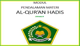 Modul PPG Al-Quran Hadits Pdf