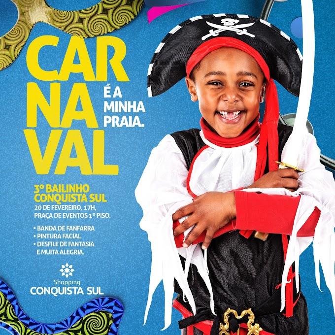 CARNAVAL 2020   3º Bailinho de Carnaval do Conquista Sul