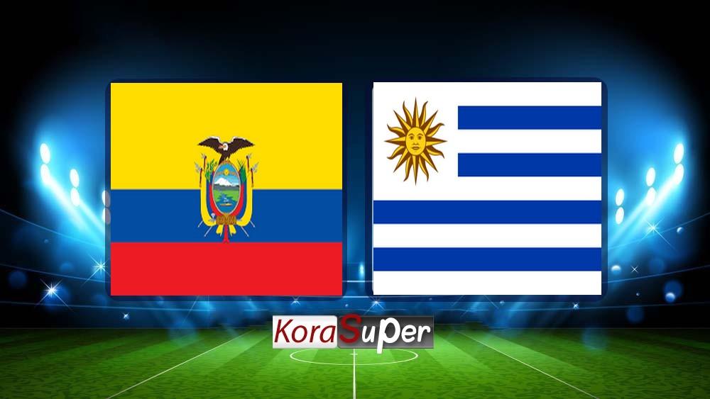 مشاهدة مباراة أوروجواي والإكوادور بث مباشر اليوم الأحد 16-06-2019 كوبا امريكا