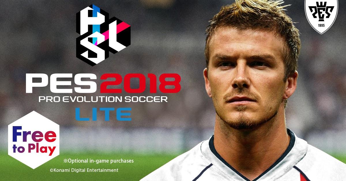 PES 2018 Lite - Download Pro Evolution Soccer 2018 Versi Percuma   KFZoom