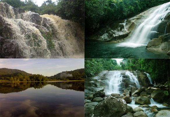 Wisata Gunung dan Air Terjun Kabupaten Sambas