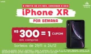 Promoção Campinas Shopping Natal 2019 Dois iPhone XR Por Semana
