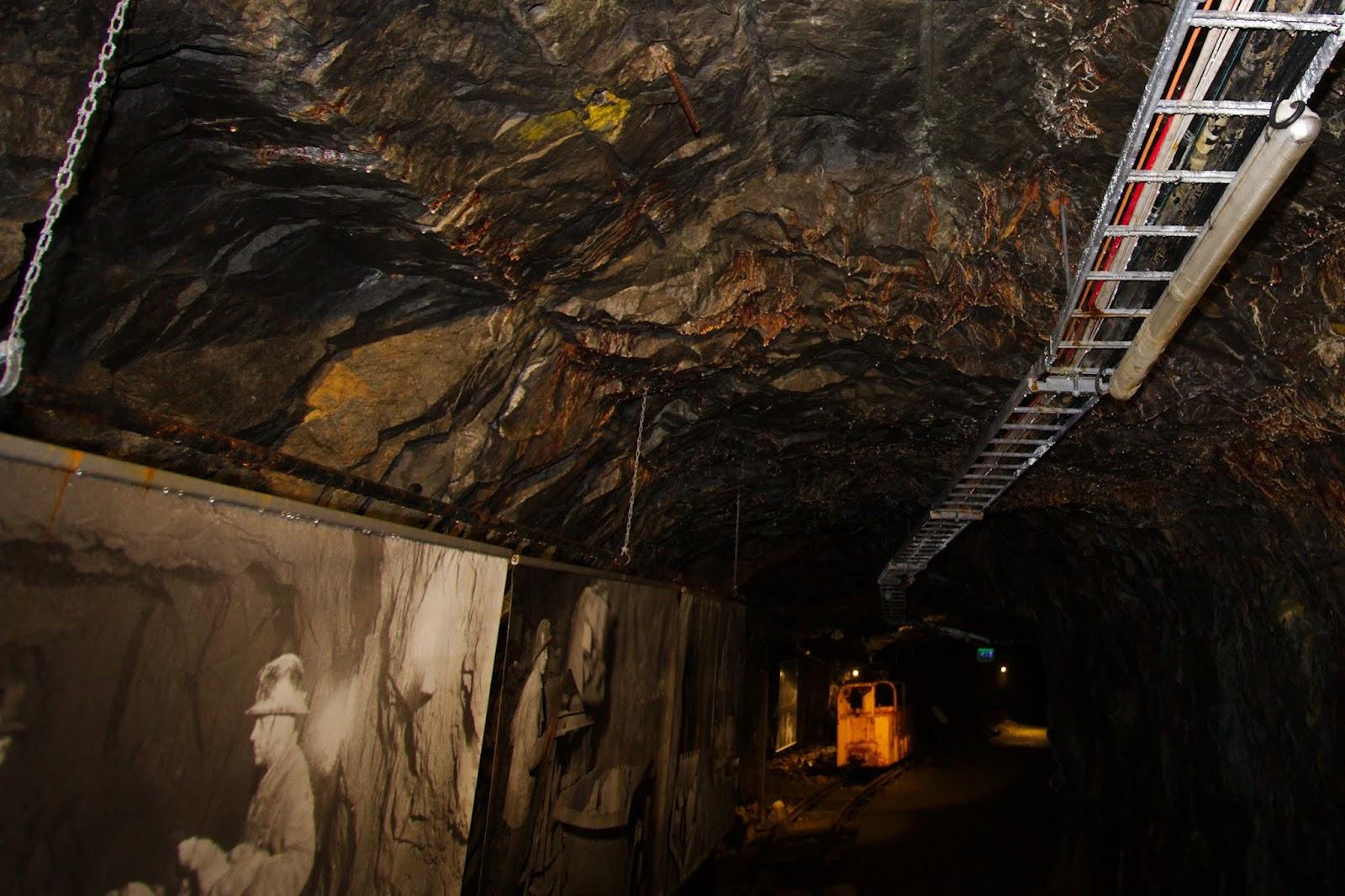 Vanhan kaivoksen tunneli
