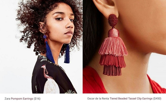 Pump your Selfie Game with DIY Tassel Statement Earrings