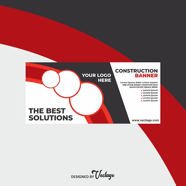 construction banner design,