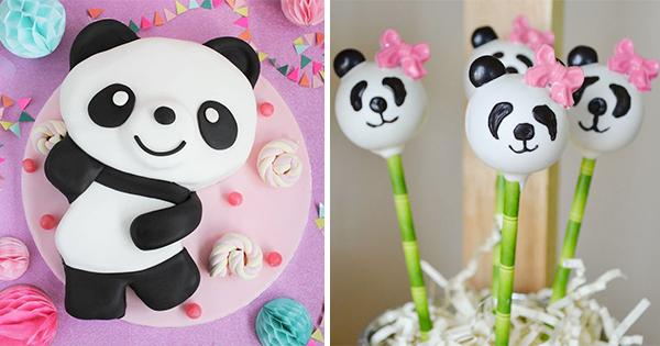 62 Ideas Dulces Fiesta Osos Panda
