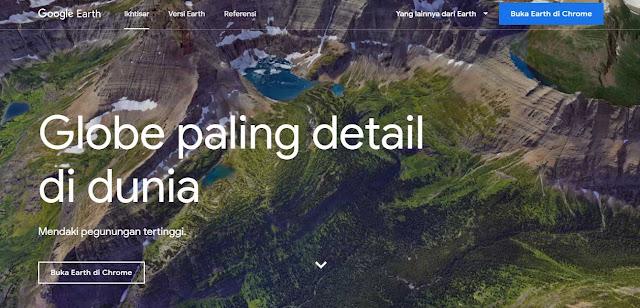 Gambar Situs Google earth
