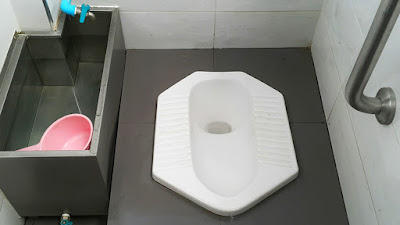 wc, water closet, toilet, wc mampet, wc tersumbat, wc jongkok,