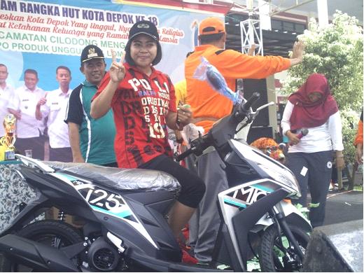 Masyarakat Cilodong Meriahkan HUT Ke-18 Kota Depok