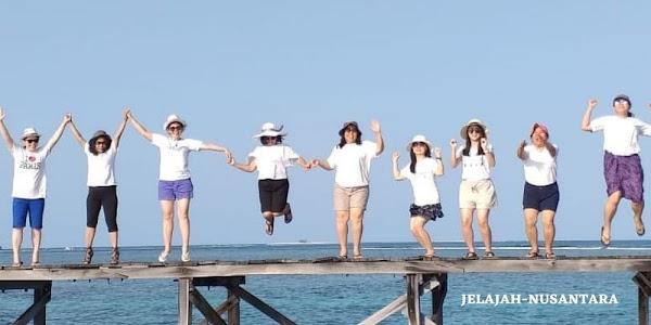 rencana perjalanan trip satu hari pulau harapan