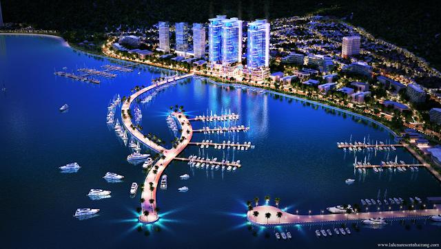 Phối cảnh tổng thể dự án Swisstouches La Luna Nha Trang