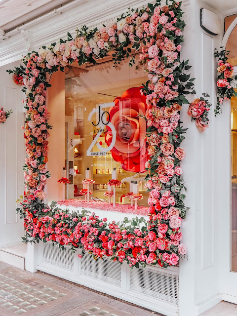 Jo Loves Belgravia Elizabeth Street Floral Display