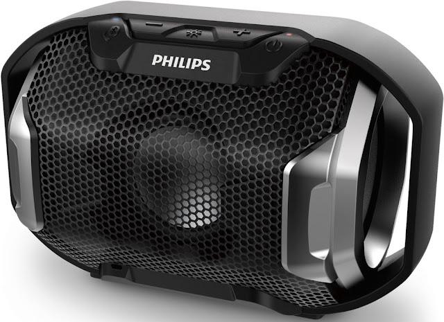 Shoqbox SB300, el nuevo parlante inalámbrico de Philips con sonido potente y luces multicolor al ritmo de la música