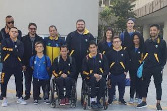 Seleção de parabadminton já está na Suíça para as disputas do Mundial da modalidade