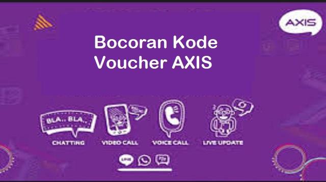 Bocoran Kode Voucher AXIS
