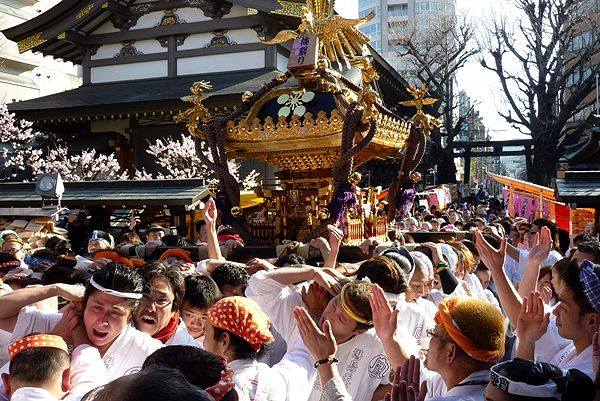 Yushima Tenjin Sai at Yushima Tenjin Shrine and others, Bunkyo-ku, Tokyo