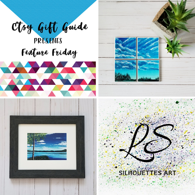 Friday Etsy Feature: LSSilhouettesArt