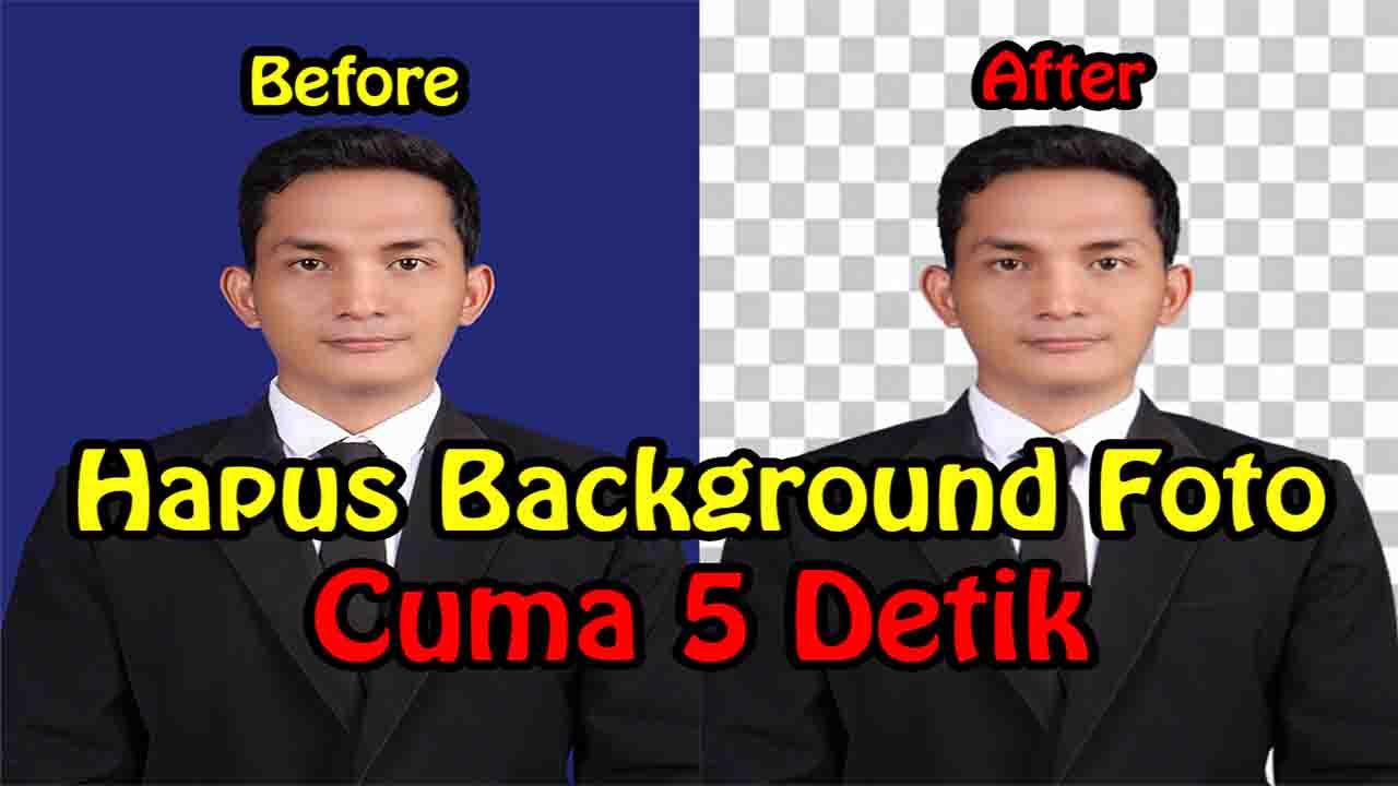 Cara Menghapus Background Foto Jadi Transparan