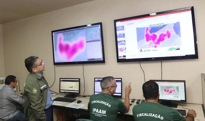 Ipaam aplica multa de aproximadamente R$ 4 milhões por queimadas e desmatamento em Apuí