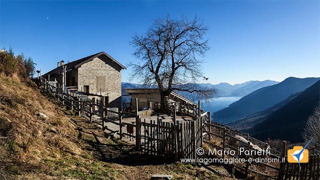 Agriturismo Chindemi con vista lago Maggiore