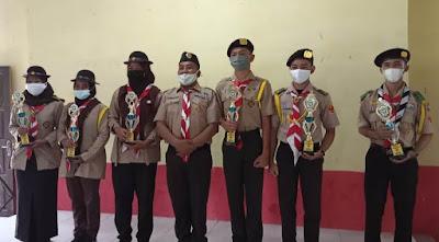 Pramuka Saka Wira Kartika Kodim 0119/BM Raih Juara Perjusami