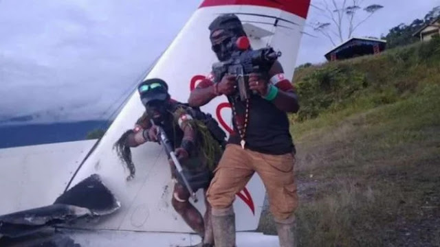 Papua Memanas, OPM Tantang TNI Perang di Bandara Sugapa Lama