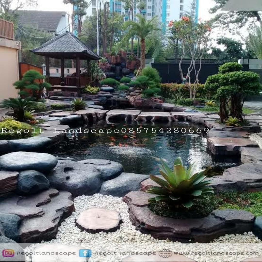 Jasa Pembuatan Dekorasi Kolam Tebing, Relif 3D Di Denpasar Bali