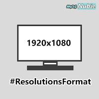 Resolutions Format Media