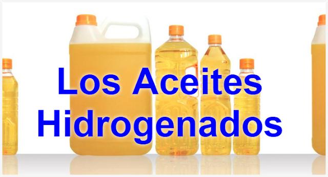 Los aceites Hidrogenados