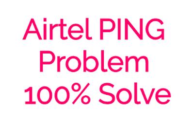 Airtel की New APN PUBG Ping प्रॉब्लम Solved *अपडेट*