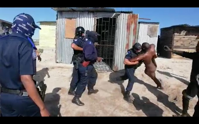 City of Cape Town to suspend officers who dragged naked man from shack.