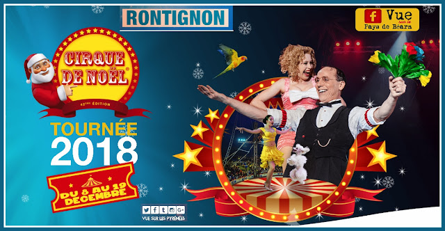 Cirque Noel Pau Rontignon 2018