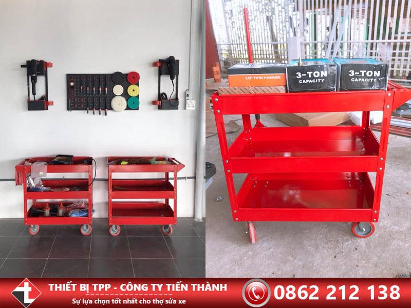 xe đẩy đung cụ, xe đẩy dụng cụ sửa xe, xe đẩy dụng cụ sửa chữa