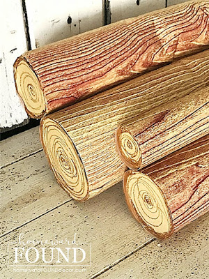 Christmas,Christmas Decor,boho style,farmhouse style,rustic style,paper,paper crafts,crafting,dollar store crafts,re-purposing,up-cycling,trash to treasure,woodcrafts,furniture,holiday,winter,DIY,diy decorating,diy home decor,diy projects,salvaged wood projects,Christmas frieplace mantel, faux woodgrain, faux wood,faux fireplace,fake fireplace decor,home decor,make it yourself, use what you have,Christmas decorating,holiday decor,holiday decorating,make a fake fireplace with fake wood logs