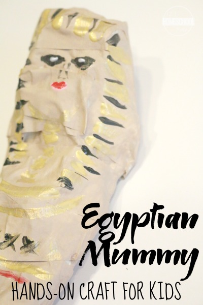 egyptian mummy craft