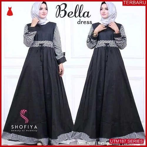 UTM187M74 Baju Mc Muslim Bella Dewasa Dress UTM187M74 0BB | Terbaru BMGShop