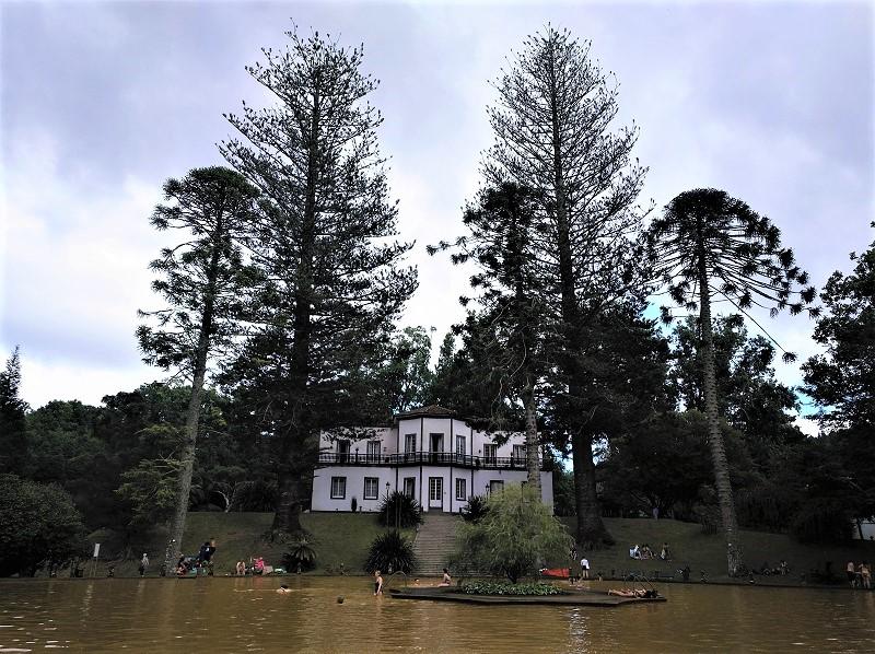 Furnas, el pueblo balneario de la isla São Miguel en Azores