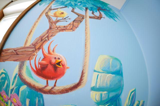 fresque chambre d'enfant hérouville
