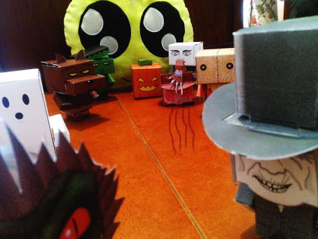Cubeecrafts de personajes de terror