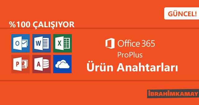 Microsoft Office 365 Ürün Anahtarları