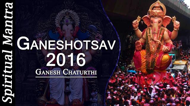 Ganesh festival in 2016