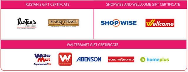 SM Gift Pass merchants