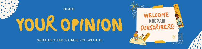 Contact Us with you Opinion