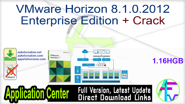 VMware Horizon 8.1.0.2012 Enterprise Edition + Crack