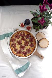 wytrawna tarta z figami