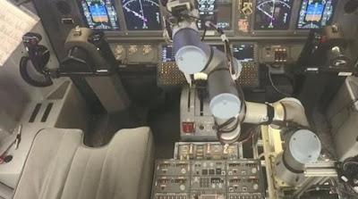 Τι θα λέγατε αν η επόμενη πτήση σας ήταν στα χέρια ενός ρομπότ;