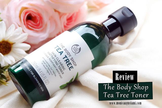 review body shop tea tree toner