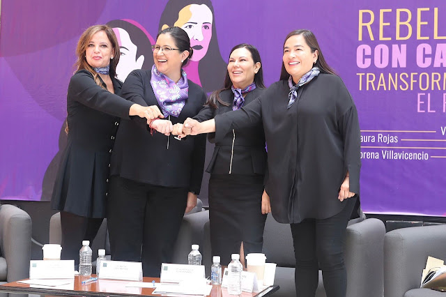 "Presentan diputadas iniciativa denominada ""Rebeldes con causa, transformando el poder"""